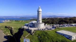 Grabación aérea con dron en Cabo Mayor