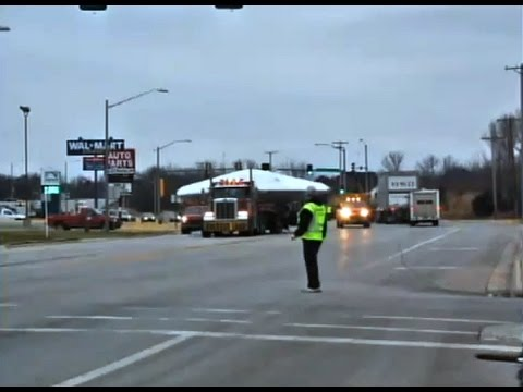 Military UFO Aircraft On Tow Truck Makes Local News