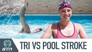 Pool Swim Stroke Vs Open Water Triathlon Stroke | How Do They Differ?