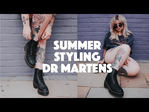 How to Style Dr. Martens | Summer Edition