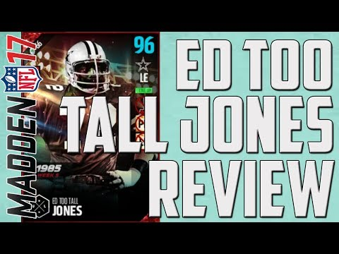 "How Good is Boss UL Ed ""Too Tall"" Jones? MUT 17 Player Review"