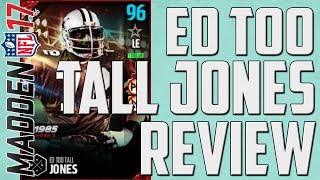 "Gambar cover How Good is Boss UL Ed ""Too Tall"" Jones? MUT 17 Player Review"