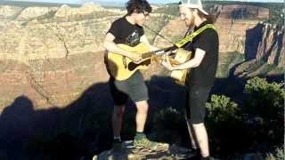ONSIND- Kim Kelly is my friend (at the Grand Canyon)