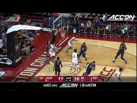 South Carolina State vs Boston College Condensed Game College Basketball 2017