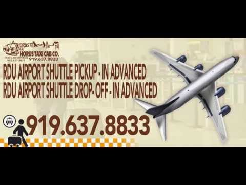 Airport Taxi Service Durham, NC-#Reserve Your Cab Now! - 919.637.8833