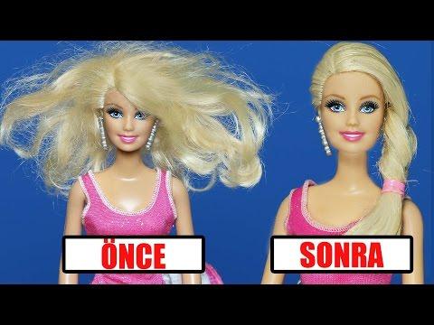 Yıpranmış Barbie Saçları Nasıl Düzeltilir | Yıpranmış Saçlara Bakım | EvcilikTV