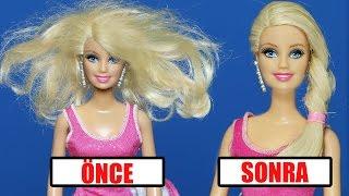 Video Yıpranmış Barbie Saçları Nasıl Düzeltilir | Yıpranmış Saçlara Bakım | EvcilikTV download MP3, 3GP, MP4, WEBM, AVI, FLV November 2017