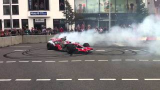 McLaren MP4-23 Formel 1 at HUGO BOSS Outlet in Metzingen