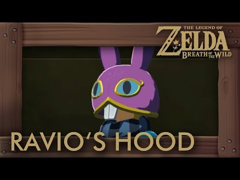 Zelda Breath of the Wild - Ravio's Hood Location