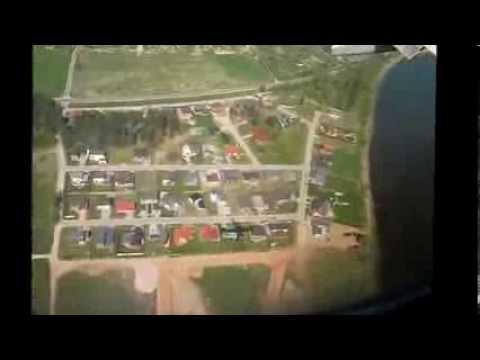Plane landing in Lithuania