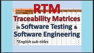 Requirements Traceability Matrix - RTM tutorial - superb explanation