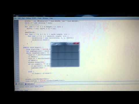 เกมจับคู่ (Object Oriented Programming)