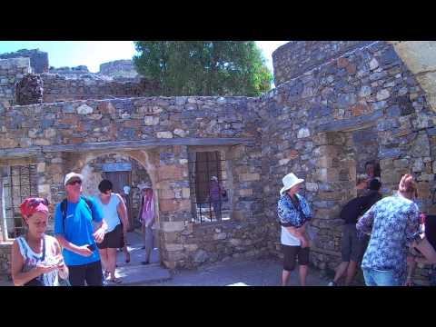 Spinalonga Leper Colony Island Crete pt 1
