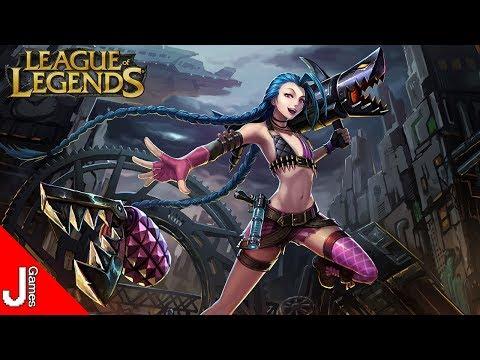 league-of-legends- -gameplay-com-a-jinx-e-de-suporte- -pc