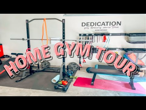2021 HOME GYM TOUR | AMAZON AFFORDABLE WORKOUT EQUIPMENT UNDER $750 | BUDGET FRIENDLY