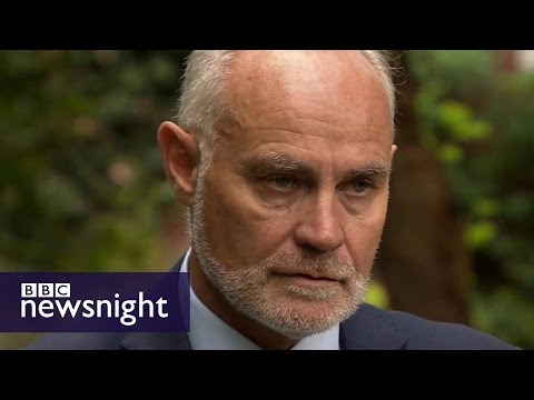 Crispin Blunt on UK arms sales to Saudi Arabia - BBC Newsnight