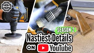 The Nastiest Interior Detailing Transformations On Youtube!!! Dirtiest Car Detailing Season 2