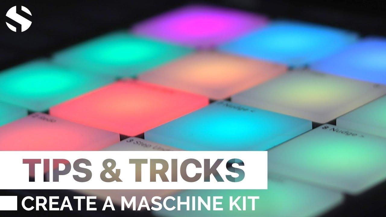 Create a maschine kit using soundiron samples (free drum kit.