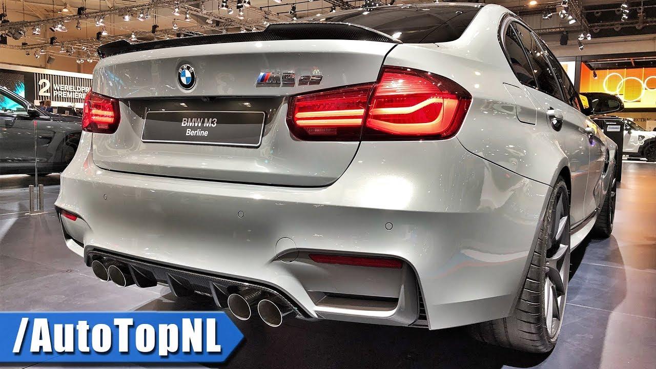 Bmw M3 Cs >> 2018 Bmw M3 Cs Looks Sound By Autotopnl