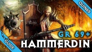 Diablo 3: GR69+ Hammerdin Crusader Guide (Solo | 2.3 | Season 4)