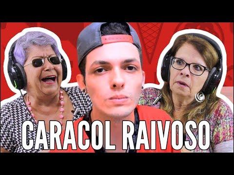 IDOSOS REAGEM A CARACOL RAIVOSO - O DIA QUE ASSISTI FILME DE TERROR