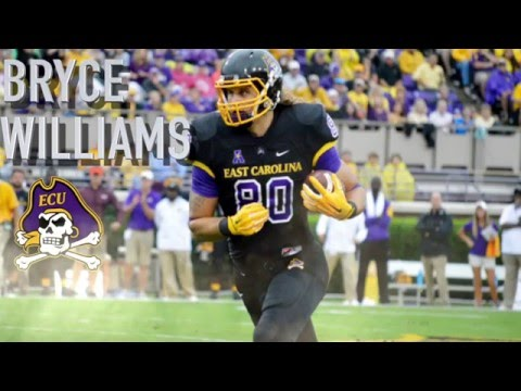 "Bryce Williams || ""Tight End Sleeper"" || East Carolina Highlights"