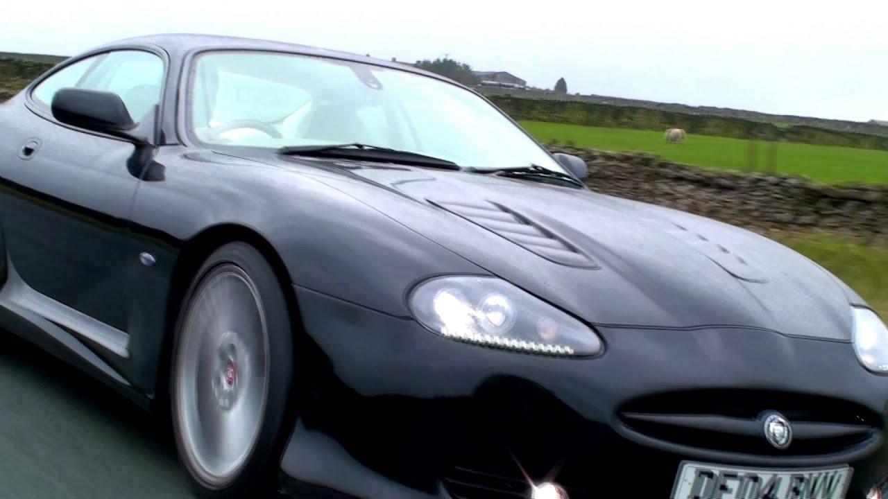 Jaguar Xkr Xkr Body Kit By Grantley Design On A Black