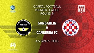 2019 Capital Football Premier League - U20\'s & 1st Grade Round 9 - Gungahlin United FC v Canberra FC