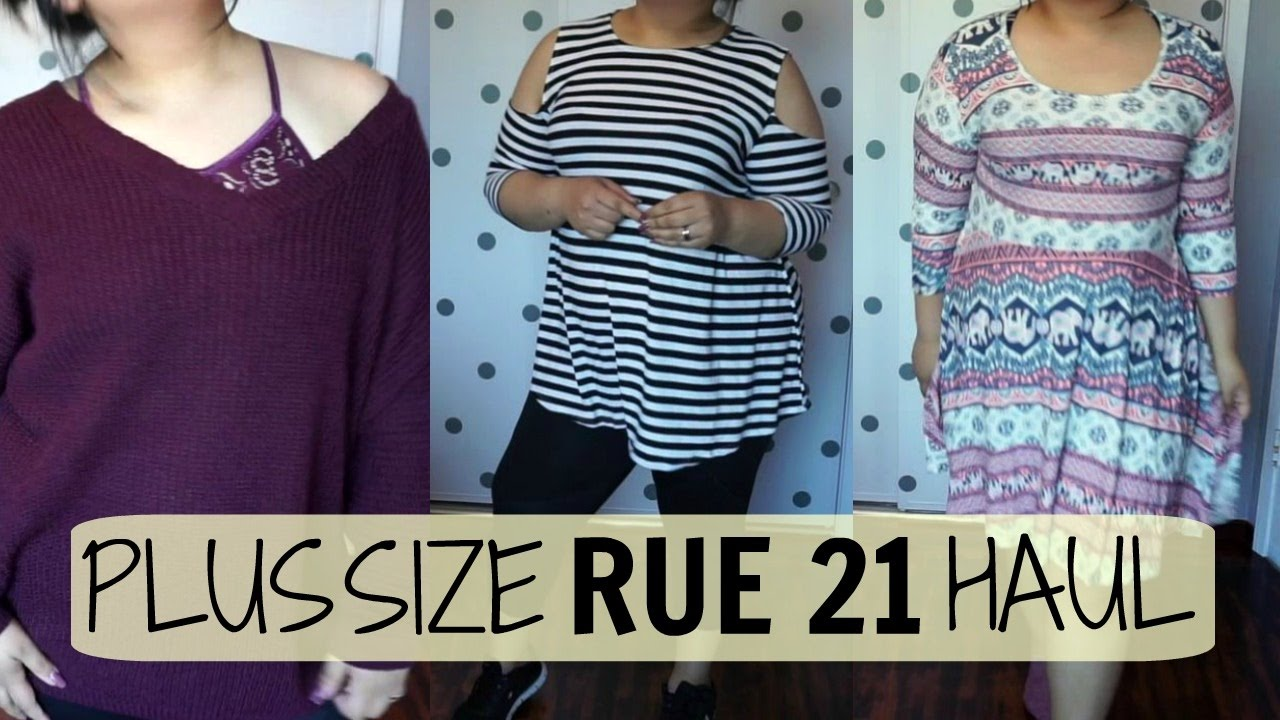 79dfb3c1072 Plus Size Rue 21 Haul - YouTube