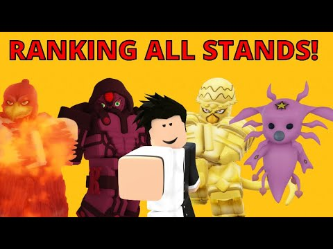 [YBA Ranking All Stands Part 2