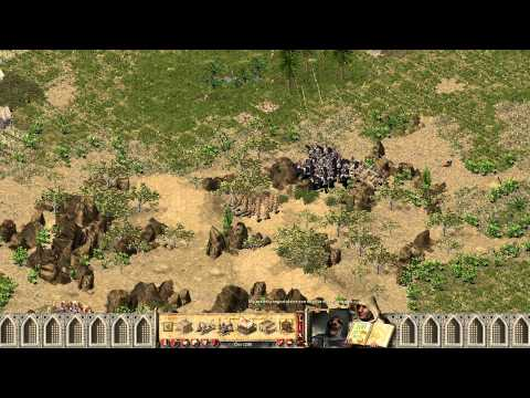 Stronghold Crusader HD Map 14 (Land of the Arab - Full game