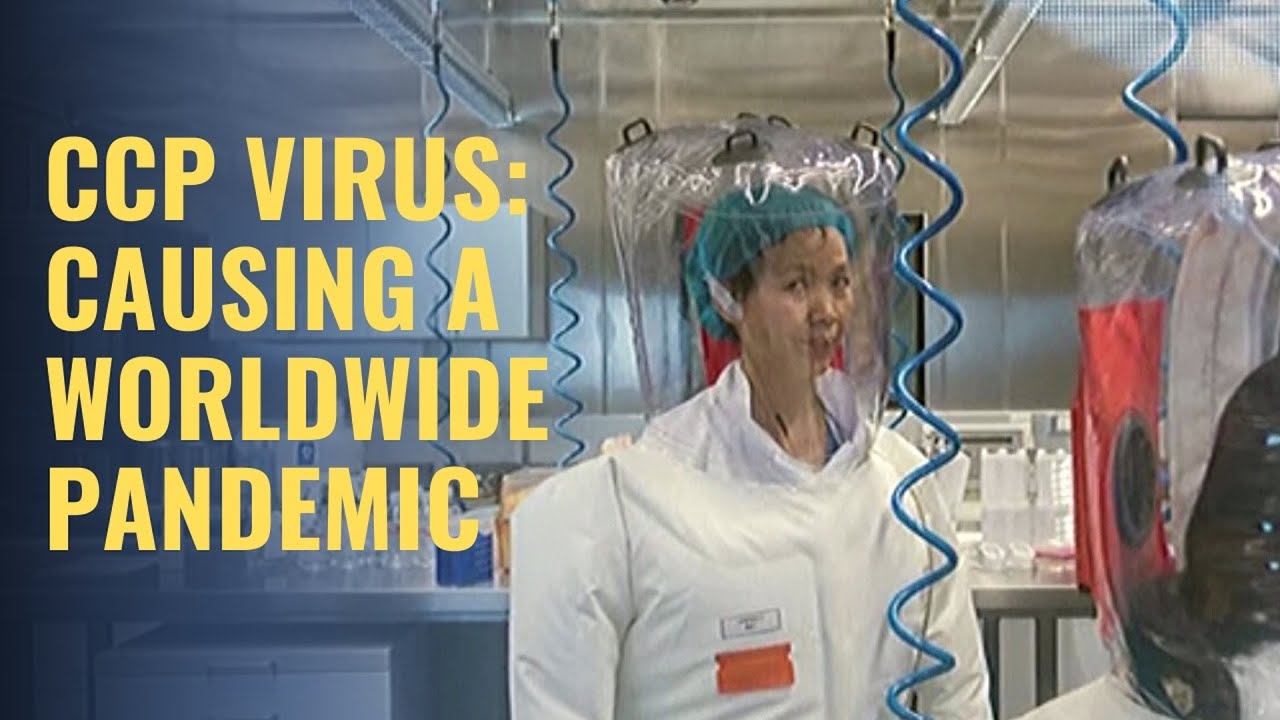 CCP VIRUS: CAUSING A WORLDWIDE PANDEMIC