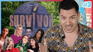 Η AMIYIAMI ΓΟΥΣΤΑΡΕΙ ΤΟΝ FIPSTER | #SurvivorYoutuberEdition