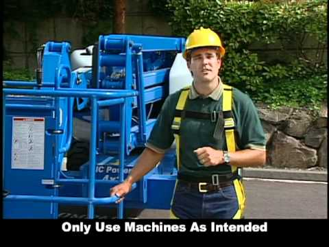 Genie Safety Video Used By Ross Equipment