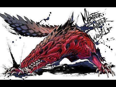 生死看淡,不服就乾-慘爪龍【怪物獵人生態/魔物獵人生態】