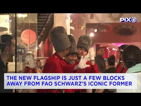 FAO Schwarz coming back to New York in time for holiday shopping