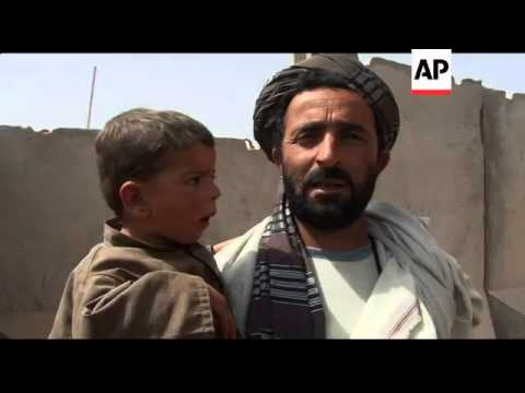 Interview with person who lost family members in attack; Afghan general