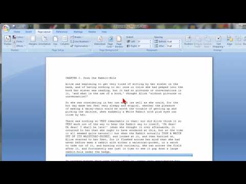 How To Insert Horizontal Lines In Microsoft Word 2007