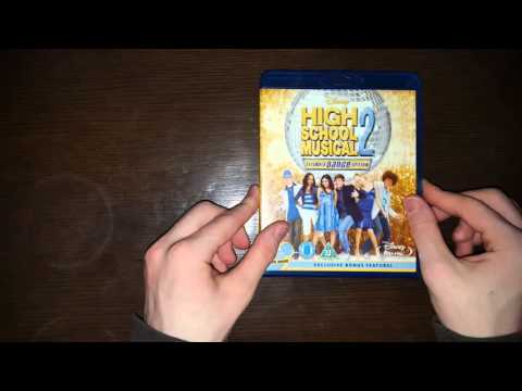 High School Musical 1,2&3 Bluray Unboxing