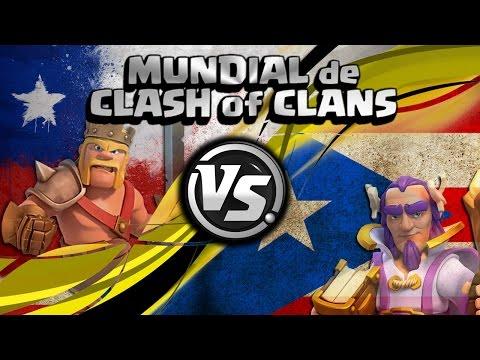 ¡CHILE vs PUERTO RICO EN DIRECTO! | 8vos del MUNDIAL de CoC con Sir VIcente