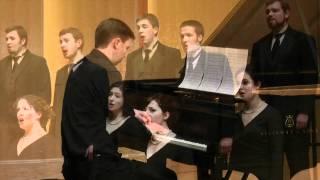 "CWU Chamber Choir/Gjeilo: ""Ubi Caritas"" with piano improv"
