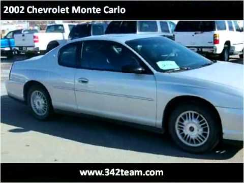 2002 chevrolet monte carlo used cars rapid city sd youtube. Black Bedroom Furniture Sets. Home Design Ideas