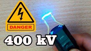 Как сделать ЭЛЕКТРОШОКЕР за 5 минут(Собираем электрошокер из генератора на 400 000 вольт купленного на AliExpress USB Паяльник: http://ali.pub/ph0z Генератор:..., 2016-03-12T14:26:13.000Z)