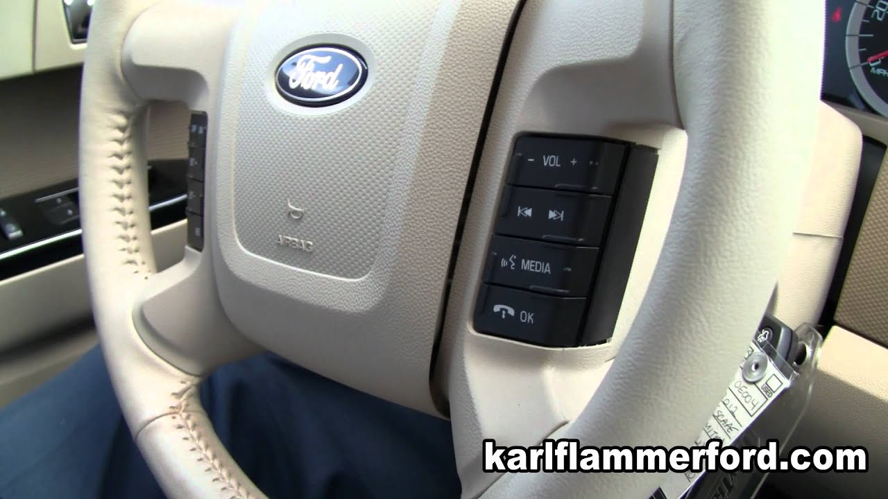 Karl Flammer Ford >> 2012 Ford Escape Review Karl Flammer Ford Tarpon Springs Florida