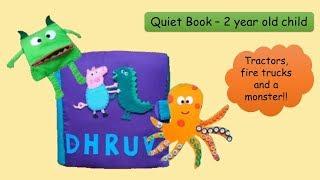 Quiet Book- 2 Year Old Child