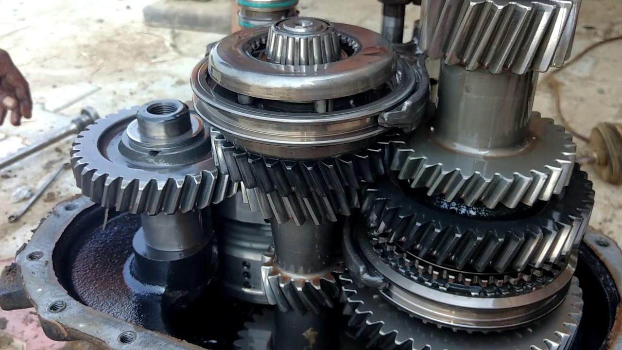 JCB repair gear box