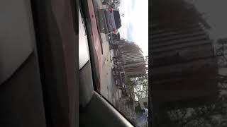 В Южно-Сахалинске на проспекте Победы опрокинулся внедорожник