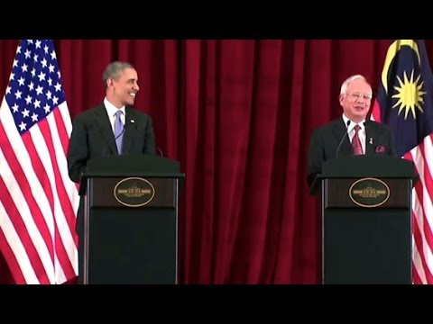 President Obama Holds a Press Conference with Prime Minister Najib of Malaysia