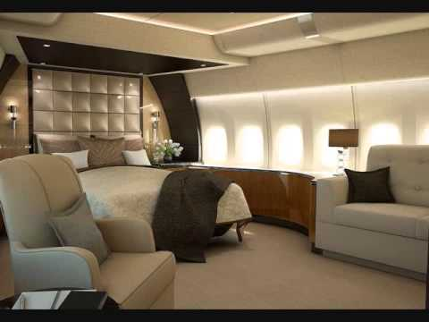747-8 air force one interior