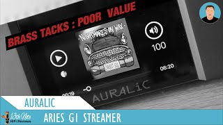 AURALiC Aries G1 Review : Brass tacks